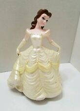 Disney Beauty and the Beast Belle Porcelain Wind Up Music Box Figurine Schmid