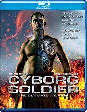 Cyborg Soldier NEW Cult Blu-Ray Disc John Stead Bruce Greenwood Tiffani Thiessen
