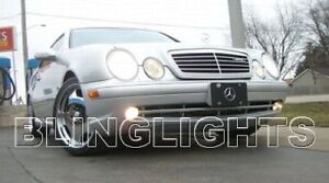 2000 2001 2002 Mercedes-Benz CLK55 AMG Xenon Fog Lights Driving Lamps Kit clk 55