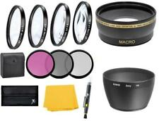 Wide Angle Lens & Macro Close-up Filter Set for Sony DSC-H50, DSC-H9, DSC-H7 HX1