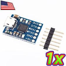 [1x] CP2102 v2.0 Micro USB 2.0 to Serial UART TTL RS232 Converter - 3.3 to 5.0V