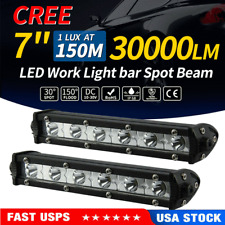 2pcs 18W 6 LED Work Light Bar Spot Lights Driving Lamp Offroad Car Truck SUV