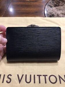 Louis Vuitton Black Epi Leather In Women S Wallets For Sale Ebay