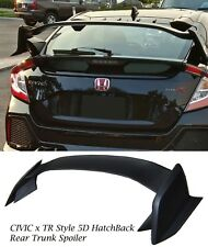17-18 HONDA CIVIC 5D TYPE R STYLE REAR SPOILER ABS+ ROOF CAP PLASTIC HATCHBACK
