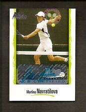2007 ACE AUTHENTIC MARTINA NAVRATILOVA AUTO #L10