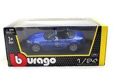 Bburago 2007 Mazda MX-5 Blue 1/24 Diecast Car 22109BL