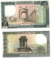 Liban Lebanon Billet 250 Livres 1988  Tyr NEUF UNC