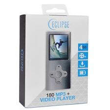 NEW Eclipse 180SL 4GB MP3 USB 2.0 Digital Music/Video Player & Voice Recorder