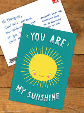 Funny Postcards Brainbox Candy 'You Are My Sunshine' Cute Comedy Humour Novelty