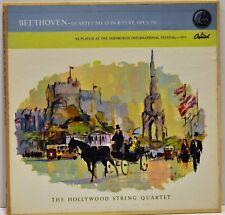 "Hollywood Quartet ""Beethoven String Quartet No. 13 Op. 130"" Capitol PAO 8429 VG+"