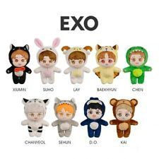 Korea Kpop EXO BAEKHYUN CHANYEOL Plush Doll Figure Toy 20cm