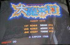 Daimakaimura / Ghouls 'n Ghosts Cps Pcb Arcade Video Game Capcom 1988