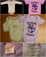 Lot Of 2 EcoBaby Cotton 1 Long Sleeve 1 Short Sleeve Baby One Piece 3-6 Months