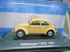VW Volkswagen 1300L Käfer 1300 L ocker gelb Argentina Atlas IXO Altaya SP 1:43