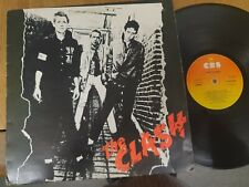 THE CLASH – The Clash 1977 Original Vinyl Record Punk