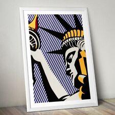 Roy Lichtenstein Art Print, Statue of Liberty Print, Pop Art Print, Wall Art