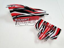 NEW TRAXXAS BANDIT Body & Wing Factory Painted RED RB5R