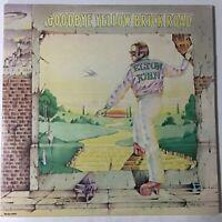 Elton John Goodbye Yellow Brick Road 2 LP VG+ 1973 MCA2-10003 Trifold Cover
