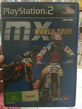 MX World Tour  PS2  - FREE POST