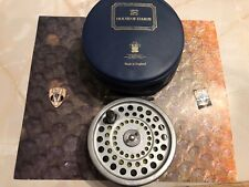 Vintage Hardy Marquis Number 8/9 Trout Fly Reel with Case & Line