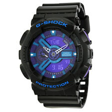 Casio G-Shock Black Plastic Mens Watch GA110HC-1ACR