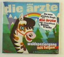 Maxi CD - Die Ärzte - Waldspaziergang Mit Folgen / Sohn Der Leere - #A1907 - Neu