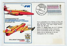 GB: 1978 RAF COMMEMORATIVE COVER FOR FIRST METEOR TARGET-DRONE (C22535)