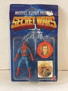 1984 Mattel Secret Wars Spiderman Marvel Action Figure MOC!!!
