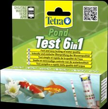 Tetra Pond strisce 6 in 1 kit test Acqua Rapido - 25 test