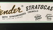 Restoration Guitar Waterslide Decal for 70's Style Fender Stratocaster x2