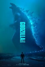 "Godzilla 2019 movie poster 11""x17"""