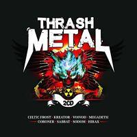 THRASH METAL (Celtic Frost,Kreator,Voivod) 2 CD NEU