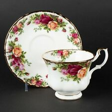 Footed Cup & Saucer, Old Country Roses by Royal Albert, 6 Available