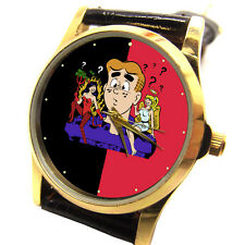 VINTAGE ARCHIE BETTY VERONICA COMIC ART COLLECTIBLE 30 mm UNISEX WRIST WATCH