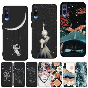 For Samsung A50 A20E A51 A52 A32 5G Painted Matte Case Soft Silicone Phone Cover