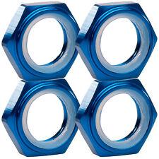 1:8 écrous de roue arrêter les écrous bleu 17 mm 6-kant de 4 Jeu partcore 310014