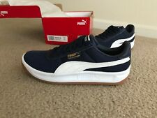 NEW PUMA California Casual Men's Running/Casual Sneakers  NAVY/WHITE SIZE 8