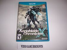 Original Box Case for Nintendo Wiiu Wii U Xenoblade Chronicles X