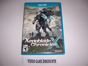 Original Box Case for Nintendo Wiiu Wii U Xenoblade Chronicles X