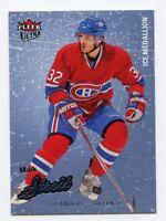 08-09 FLEER ULTRA ICE MEDALLION #50 MARK STREIT 066/100 CANADIENS *56285
