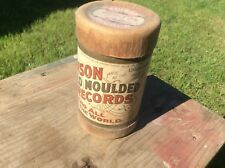 Antique Thomas Edison Gold Moulded Records , Advertising, 7597 ?