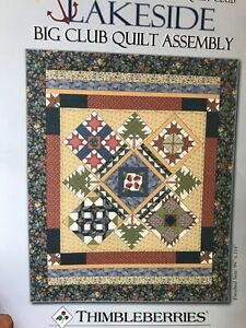 "Thimbleberries Lakeside Quilt Fabric Kit  94"" x 114"" King - see description"