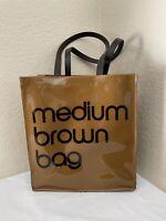 Bloomingdales Medium Brown Reusable  Bag