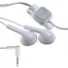 NOKIA HEADSET ORIGINAL EARPHONES WH-102 WHITE FOR 700 701 7230 ASHA 200 201