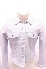 Vintage GAP Suede Jacket XS Cow Split Leather Cropped Lined Women's New $168.00