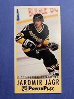 1993-94 Fleer Power Play Tall Boy #189 Jaromir Jagr Pittsburgh Penguins