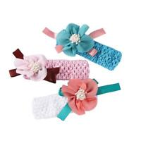 Newborn Baby Girl Kids Headband Infant Toddler Bow Hair Band Girl Accessories