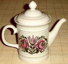 Teekanne / Kaffeekanne - SCHUMANN ARZBERG BAVARIA GERMANY mit Blumen-Dekor 1,2l