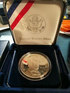 2009 P ABRAHAM LINCOLN ***PROOF*** SILVER DOLLAR with box/coa