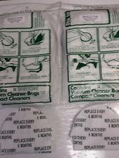 Tristar Vacuum 24 paper bags & 2 after filters set! Tri star tools attachments